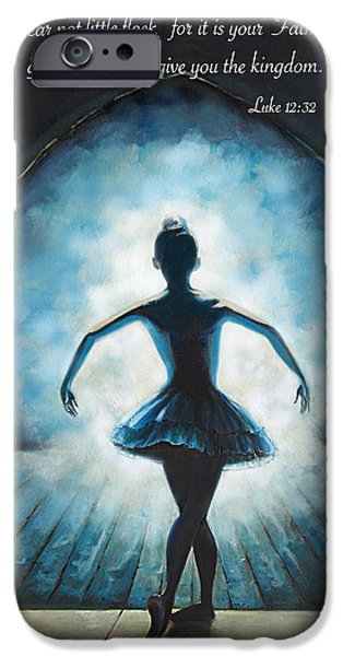 Ballet Drawings iPhone Cases - Entering the Glory iPhone Case by Tamer and Cindy Elsharouni