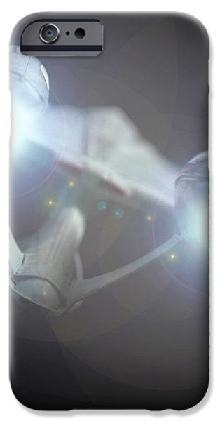 Enterprise  iPhone Case by David Doyle