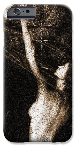 Entities Touch iPhone Case by Bob Orsillo