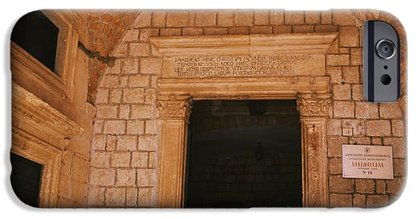 Board iPhone Cases - Entrance Of A Monastery, Dominican iPhone Case by Panoramic Images