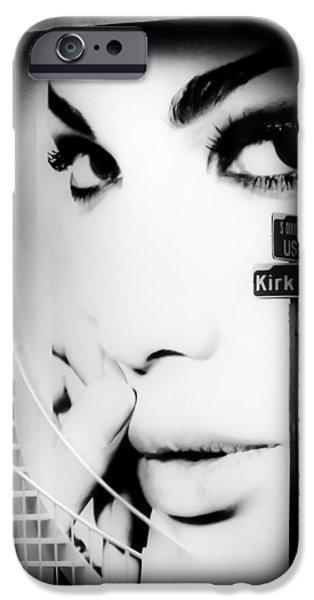 Entrance Door Photographs iPhone Cases - Entrance To A Womans Mind iPhone Case by Karen Wiles