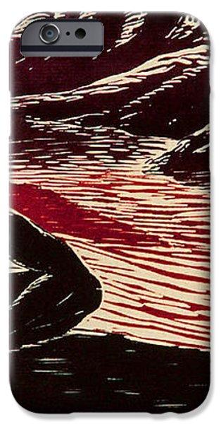 Entre Viento y Sol iPhone Case by Maria Arango