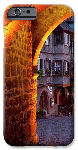 Entry to Riquewihr iPhone Case by Brian Jannsen