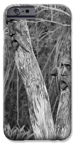 Ents 2 monochrome iPhone Case by Steve Harrington
