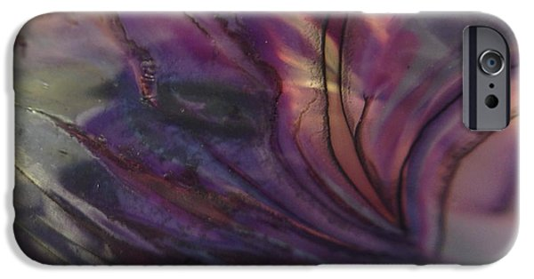 Close Up Glass iPhone Cases - Entwined iPhone Case by Gaby Tench