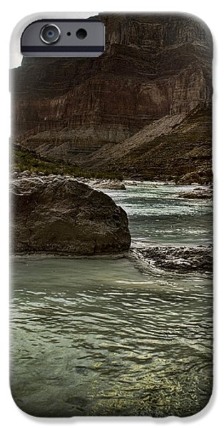 Grand Canyon Digital Art iPhone Cases - Eons In The Making iPhone Case by Ellen Heaverlo