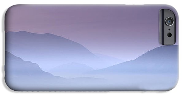 Vale iPhone Cases - Ephemeral Light over St Johns in The Vale iPhone Case by John Potter