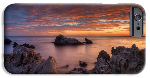 Epic Photographs iPhone Cases - Epic California Sunset iPhone Case by Marco Crupi