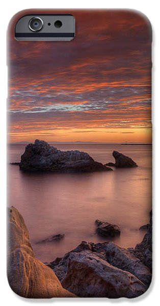 Epic California Sunset iPhone Case by Marco Crupi
