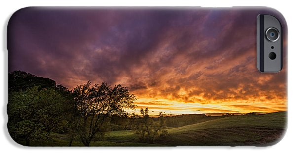 Sunset iPhone Cases - Epic Light iPhone Case by Aaron J Groen