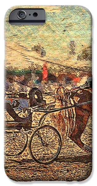 Equestrian Folklore iPhone Case by Ernestine Manowarda