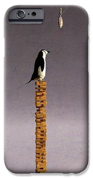 Equilibrium V iPhone Case by Cynthia Decker