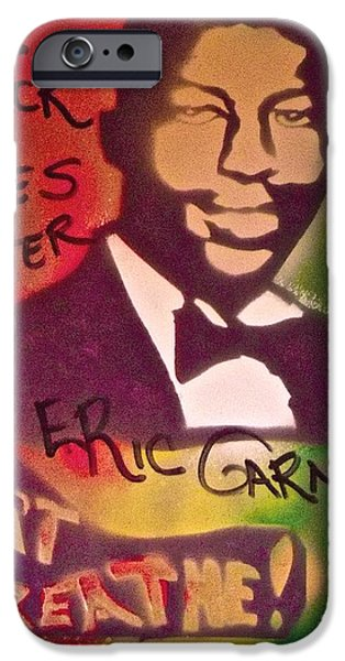 American Conservative Party iPhone Cases - Eric Garner iPhone Case by Tony B Conscious
