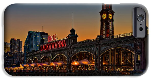 Hudson River iPhone Cases - Erie Lackawanna iPhone Case by Susan Candelario