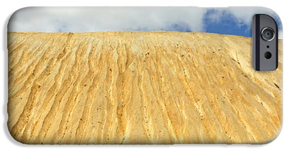 Tailings iPhone Cases - Eroded Copper Tailing, Ruth, White Pine iPhone Case by Panoramic Images