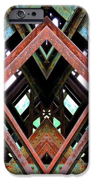 Interior Scene iPhone Cases - Erosion iPhone Case by Marcia Lee Jones