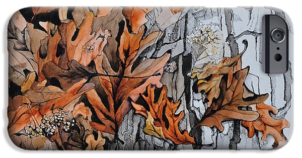 Disorder iPhone Cases - Eruption I iPhone Case by Rachel Christine Nowicki