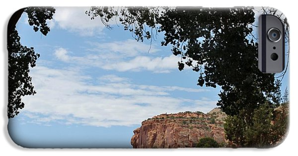 Slickrock iPhone Cases - Escalante Canyon Arch iPhone Case by Janice Rae Pariza