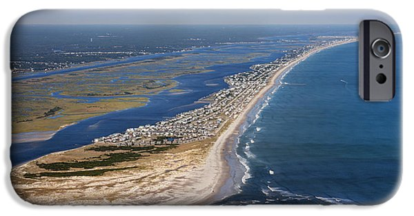 Topsail Island iPhone Cases - Escape to Topsail Island iPhone Case by Betsy A  Cutler