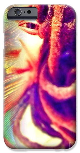 Yesayah Mixed Media iPhone Cases - Escaped  iPhone Case by Fania Simon