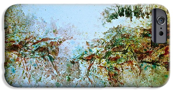 Ledge iPhone Cases - Escarpment iPhone Case by Carolyn Rosenberger