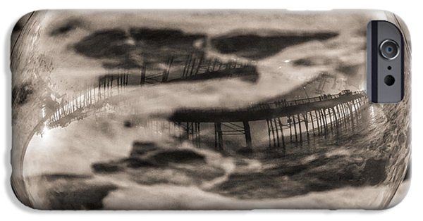 United iPhone Cases - Escher at the Beach iPhone Case by Duane Miller