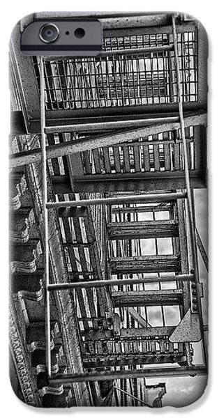 Escher Escape iPhone Case by Madeline Ellis