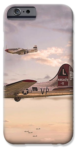 Escort Service iPhone Case by Pat Speirs