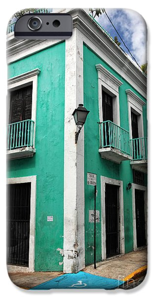 Caribbean Corner iPhone Cases - Esquina iPhone Case by John Rizzuto