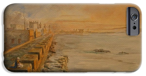 Ancient Ruins iPhone Cases - Essaouira Morocco iPhone Case by Juan  Bosco