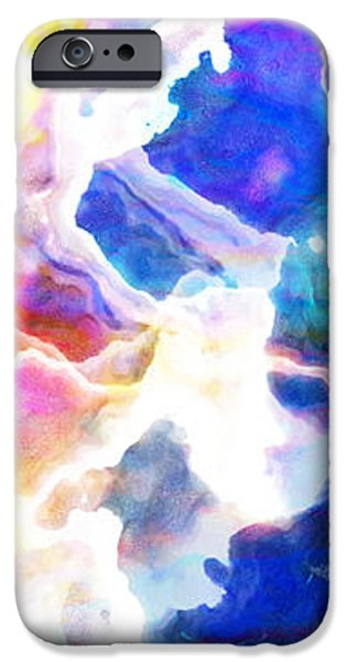 Essence - Abstract Art iPhone Case by Jaison Cianelli
