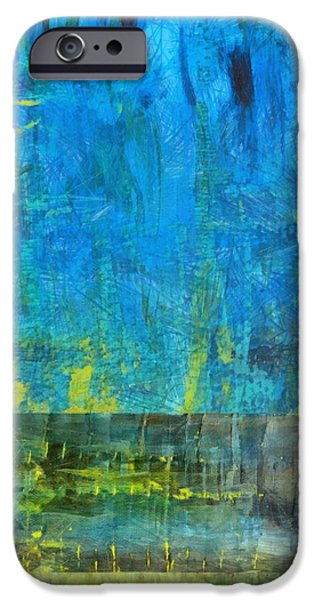 Essence of Blue iPhone Case by Michelle Calkins