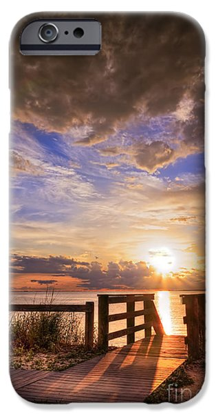Jacksonville iPhone Cases - Essence of Light iPhone Case by Marvin Spates