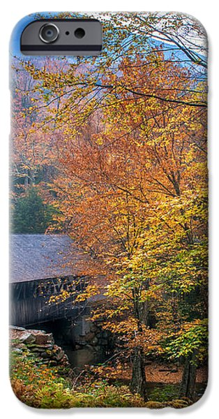 Essence of New England - New Hampshire autumn classic iPhone Case by Thomas Schoeller