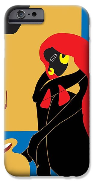 """indoor"" Still Life Digital Art iPhone Cases - Essence iPhone Case by Seemab Zaheera"
