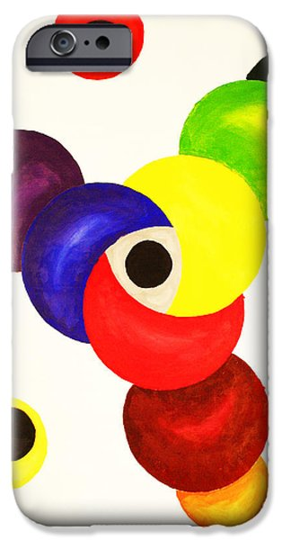 Business Paintings iPhone Cases - Established Brand Strategy iPhone Case by Christine  Dekkers