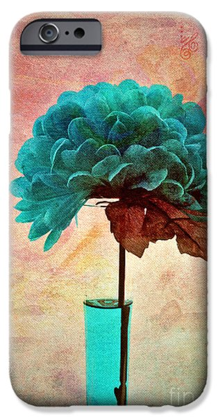 Still Life iPhone Cases - Estillo - s04b2t22 iPhone Case by Variance Collections
