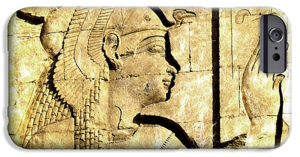 Hathor iPhone Cases - Eternal Isis iPhone Case by Brenda Kean