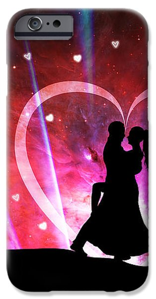 Eternal Love iPhone Case by Phill Petrovic