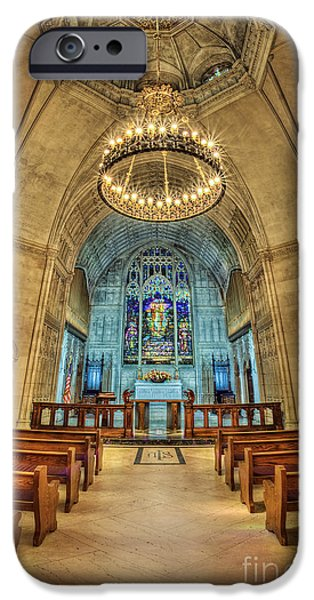 Chapels iPhone Cases - Eternal Search iPhone Case by Evelina Kremsdorf