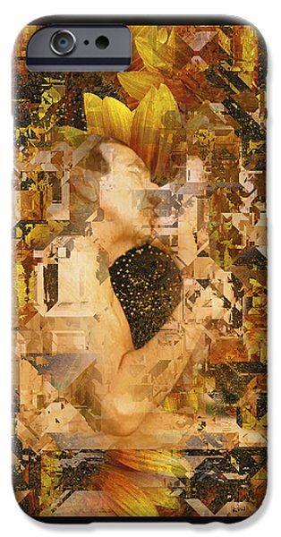 Eternally Yours iPhone Case by Kurt Van Wagner