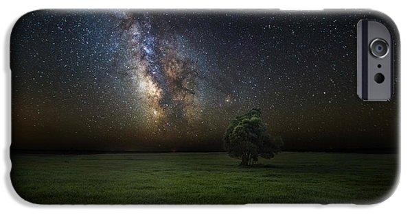 Lone Tree iPhone Cases - Eternity iPhone Case by Aaron J Groen