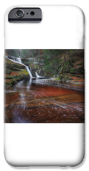 Ethereal Autumn iPhone Case by Bill  Wakeley