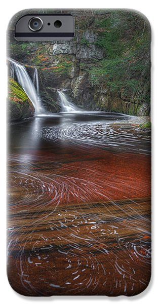Ethereal Autumn Square iPhone Case by Bill  Wakeley