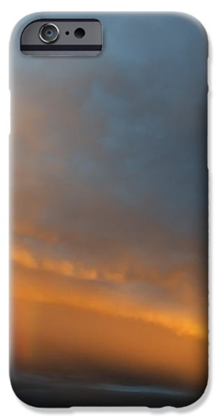 Ethereal Clouds and Rainbow iPhone Case by Greg Reed