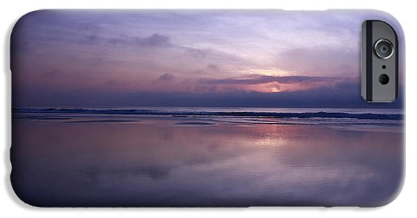 Beach iPhone Cases -  Jacksonville Ethereal Ocean iPhone Case by John Tsumas