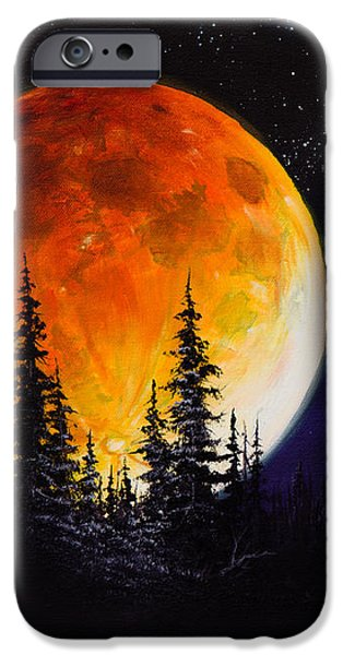 Ettenmoors Moon iPhone Case by C Steele