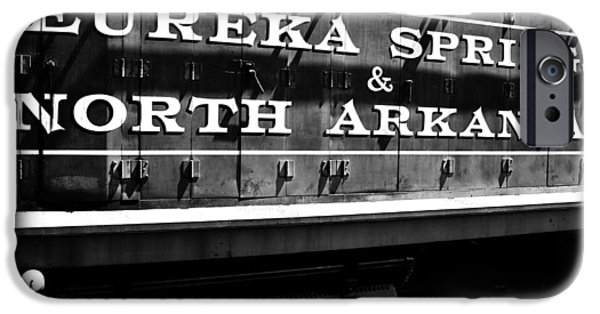 Arkansas iPhone Cases - Eureka Springs Railroad iPhone Case by Benjamin Yeager
