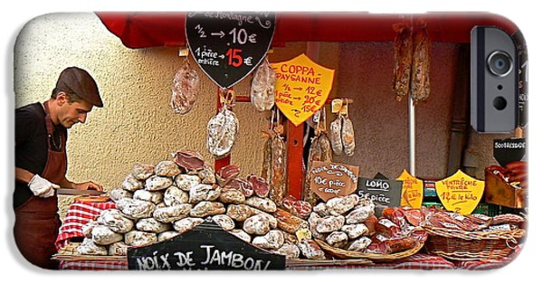 Cathar Country iPhone Cases - European Butcher iPhone Case by France  Art