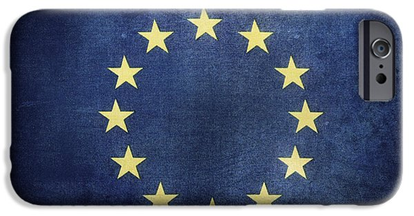 Stability iPhone Cases - European Union iPhone Case by Les Cunliffe